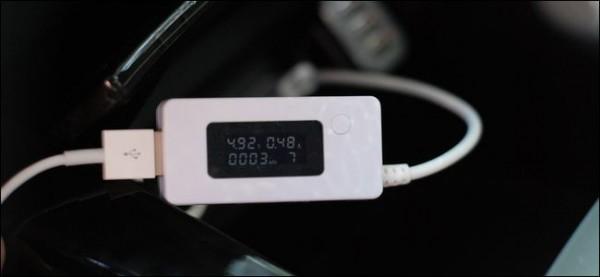 اندازه گیری مصرف برق دستگاه یو اس بی