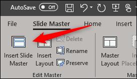 ساختن Slide Master پاورپوینت