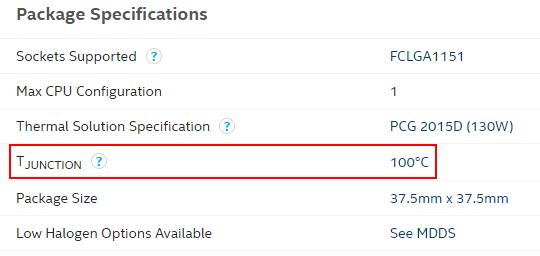 دمای CPU در ویندوز 10