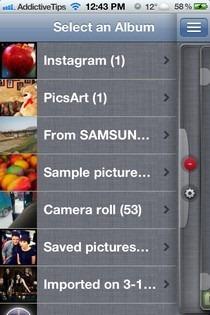 Photo Resizer-iOS-Albums