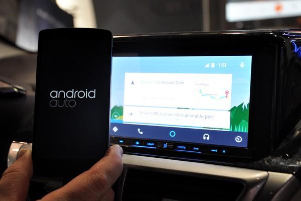 خودروهای هیوندای، اولین محصول مجهز به اندروید اتو