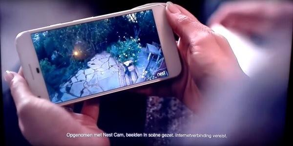پیکسل گوگل در تبلیغات Nest  رونمایی شد