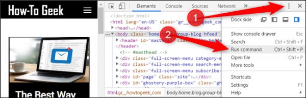 نحوه گرفتن اسکرین شات کامل از سایت در کروم
