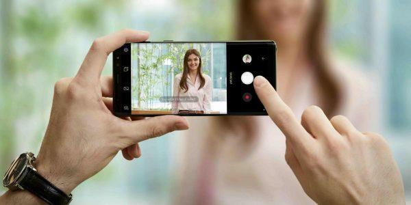 گلکسی نوت ۸ بهترین دوربین برای تصویربرداری