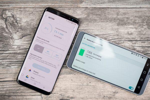 افزایش عمر باتری در گوشی های Galaxy S8 و +Galaxy S8