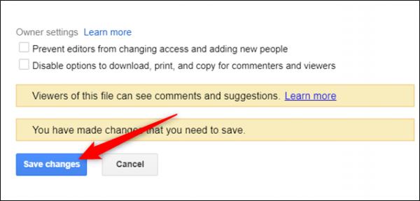 انقضا زمان اشتراک گذاری فایل