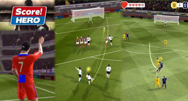 بازی موبایلی فوتبال