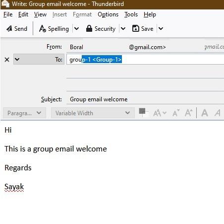 افزودن گروه های Gmail در Thunderbird