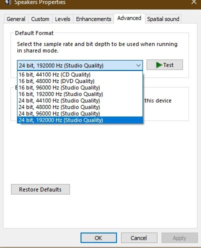 برای افزایش ولوم ویندوز 10 ازEqualizerAPO استفاده کنید