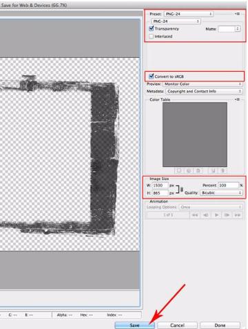 درست کردن فایل png با پس زمینه شفاف
