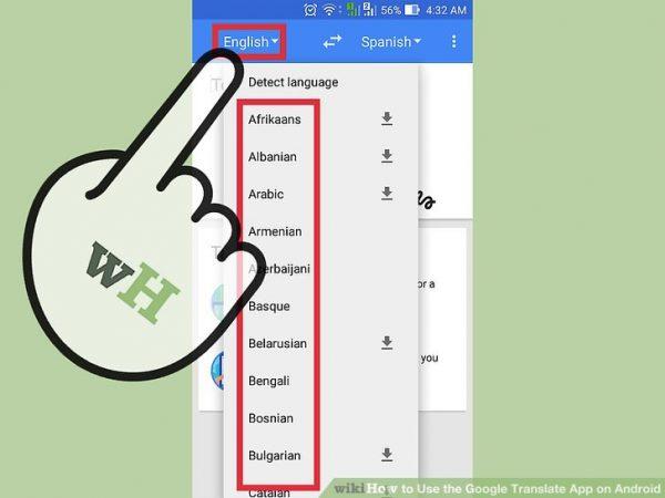 استفاده از مترجم گوگل در اندروید