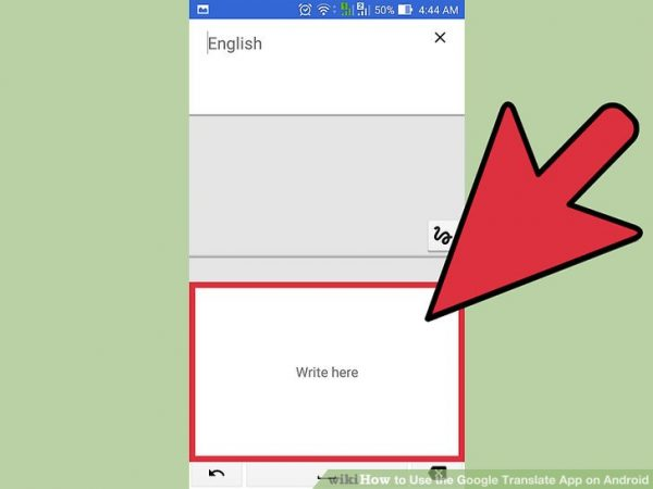 استفاده از ورودی دست نوشته در مترجم گوگل