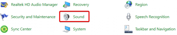 افزایش ولوم صدای ویندوز هنگام تماس صوتی