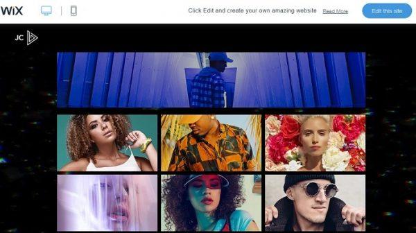 طراحی سایت رایگان باWix
