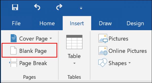 Blank Page یاPage Break را در ورد ایجاد کنید