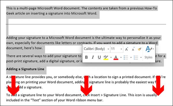 روش کپی کردن صفحه ای از ورد با فرمت و جزییات خاص