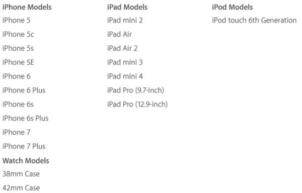 airpod با کدام محصولات اپل سازگار است