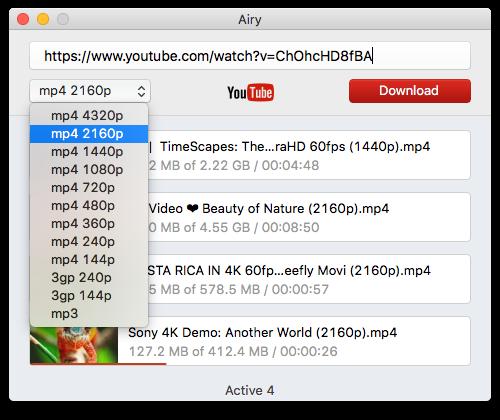 دانلود فیلم های یوتیوب در مک
