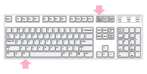 روش گرفتن اسکرین شات در ویندوز 8.1 برای پنجره فعال ( به جز کل صفحه )