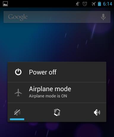 با تغییر تنظیمات در بخش airplane می توانید گوشی خود را از نظر اتصال به اینترنت چک کنید و مشکلات مربوطه را حل کنید. کافیست یک بار airplane را فعال و بعد غیر فعال کنید.
