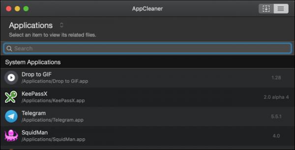 AppCleaner: برنامه ها را حذف کرده و فضای را بازیابی کنید