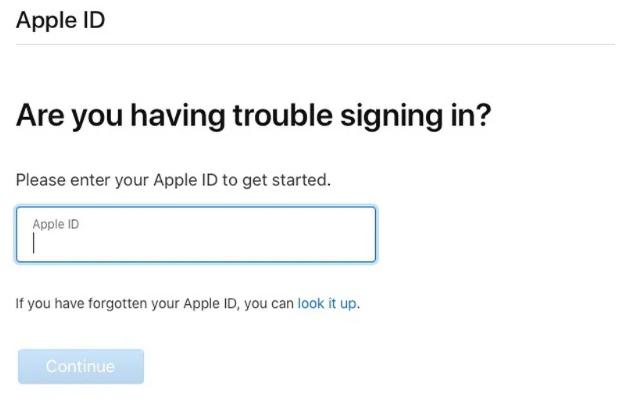 اگر گذرواژه شناسه اپل (Apple ID) خود را فراموش کردم، چه کنم؟