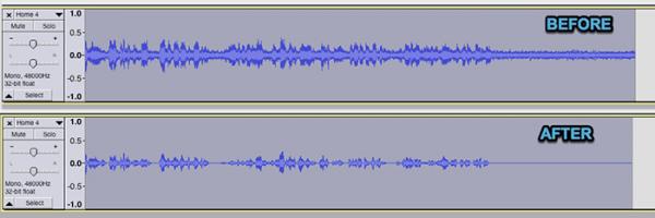 تنظیمات کاهش نویز صدا در مک