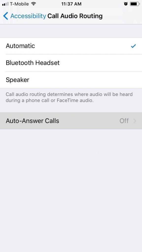 Auto-Answer Calls