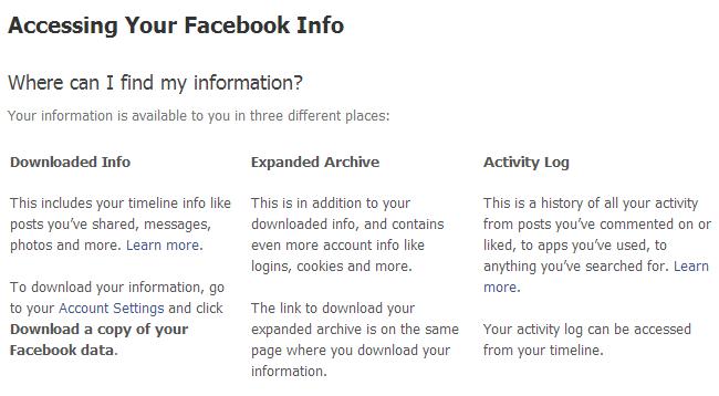 بکاپ گرفتن از اکانت شبکه های اجتماعی مثل فیس بوک
