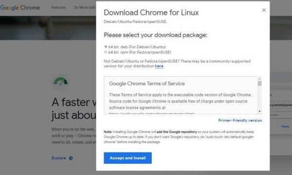 مرورگر لینوکس نسخه لینوکس کروم برای تمام توزیع ها