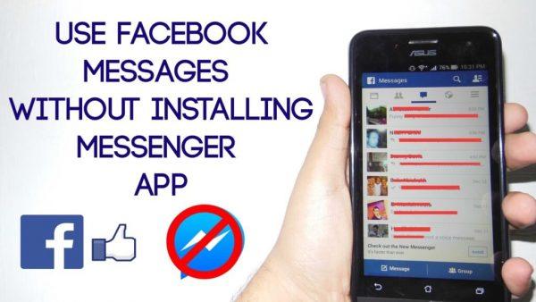 چگونه بدون نصب مسنجر فیس بوک با دوستان خود چت کنیم ( اندروید )