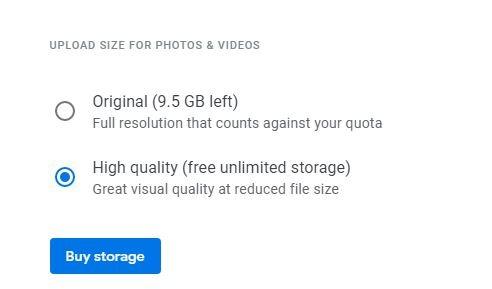 افزایش فضای ذخیره سازی گوگل