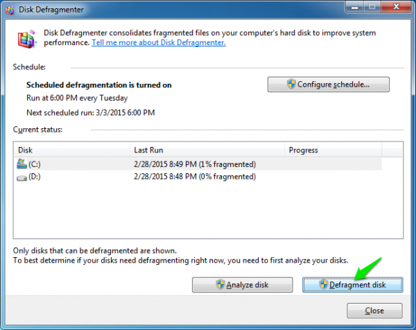 click-on-Defragment-disk