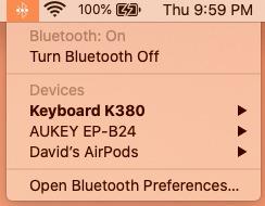اتصال ایرپاد به مک با اپل ای دی