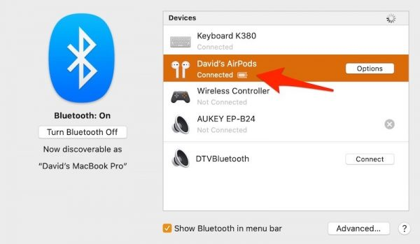 تنظیمات ایرپاد اپل