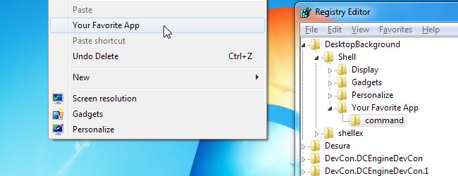 Context Menu-Shortcuts-Header