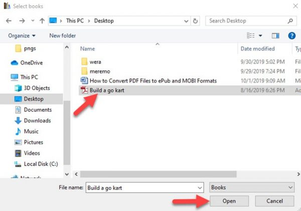 روش کار کردن با نرم افزار کالیبر جهت تبدیل فایل پی دی اف بهePub