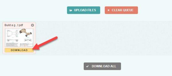 گام به گام تا تبدیل پی دی اف به MOBI به صورت آنلاین