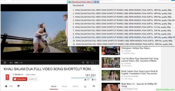 دانلود از یوتیوب با idm