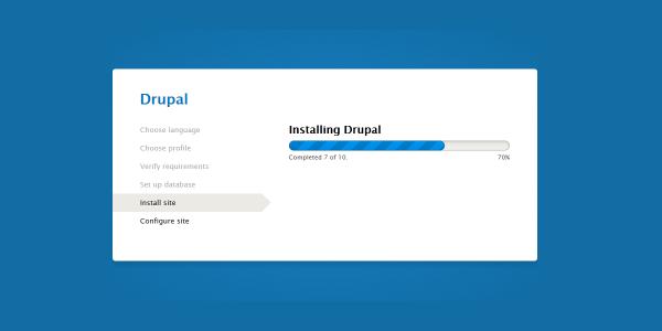 چگونه روی سرور اوبونتو دروپال نصب کنیم؟