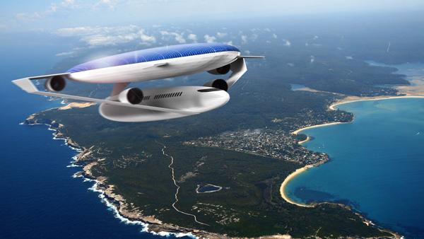 طراحی هواپیمای مفهومی Eco-Airliner