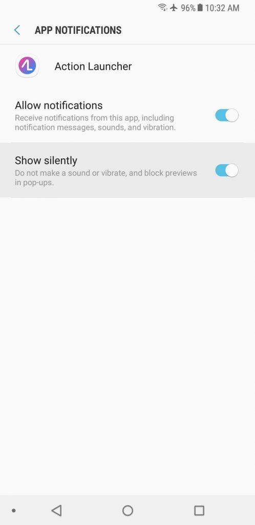 App Notifications & Popups