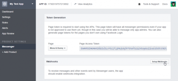 تنظیم اپلیکیشن فیسبوک شما
