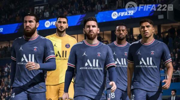 فیفا ۲۲: EA Sports انتقال مسی به پاری سن ژرمن را جشن میگیرد.
