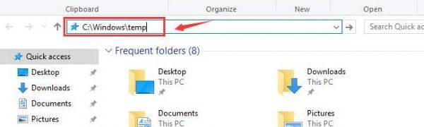 با انجام این کار ویندوز سریع شما را به موقعیت فایل های مورد نظر می برد
