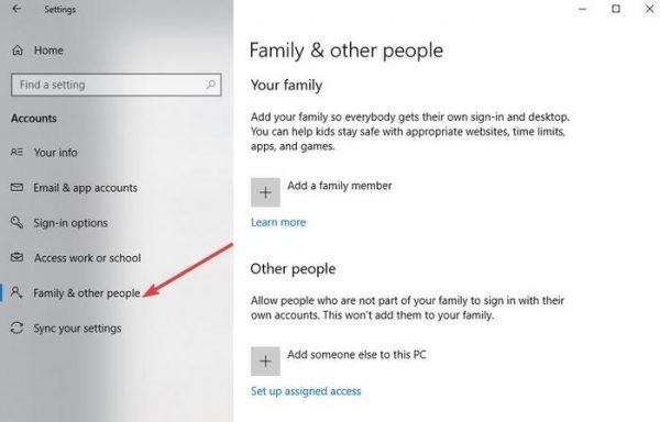 یک پروفایل کاربری جدید ایجاد کنید