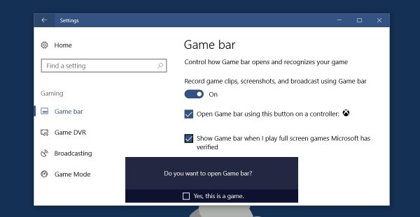 Record game clips, screenshots, and broadcast using Game bar