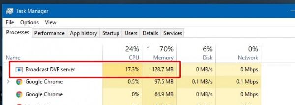 حل مشکل استفاده RAM بالا