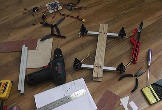 ساخت یک ربات پرنده