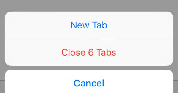 چگونه تمام تب های سافاری را در iOS 10 همزمان ببندیم؟